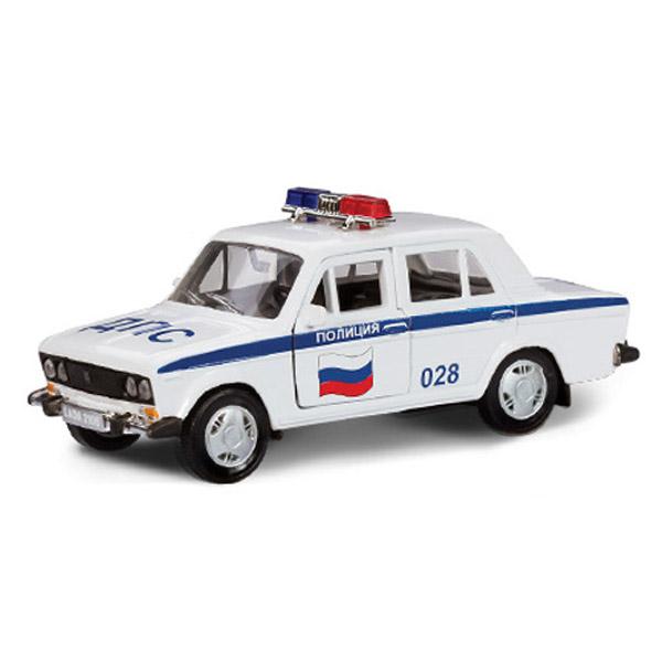 Машинка Autotime LADA 2106 полиция 1:36<br>