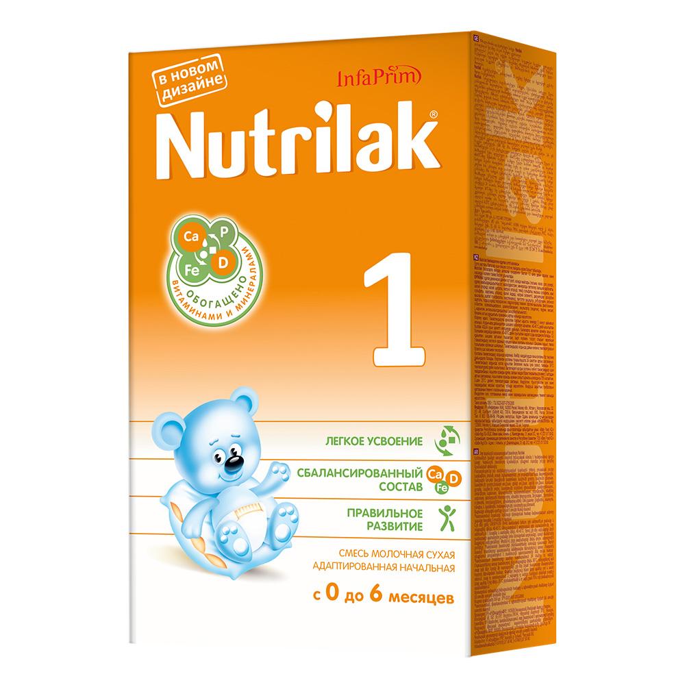 Заменитель Nutrilak 350 гр № 1 (c 0 до 6 мес)<br>