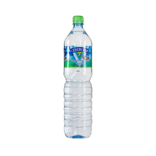 Вода минеральная Сенежская 1,5 л негазированная