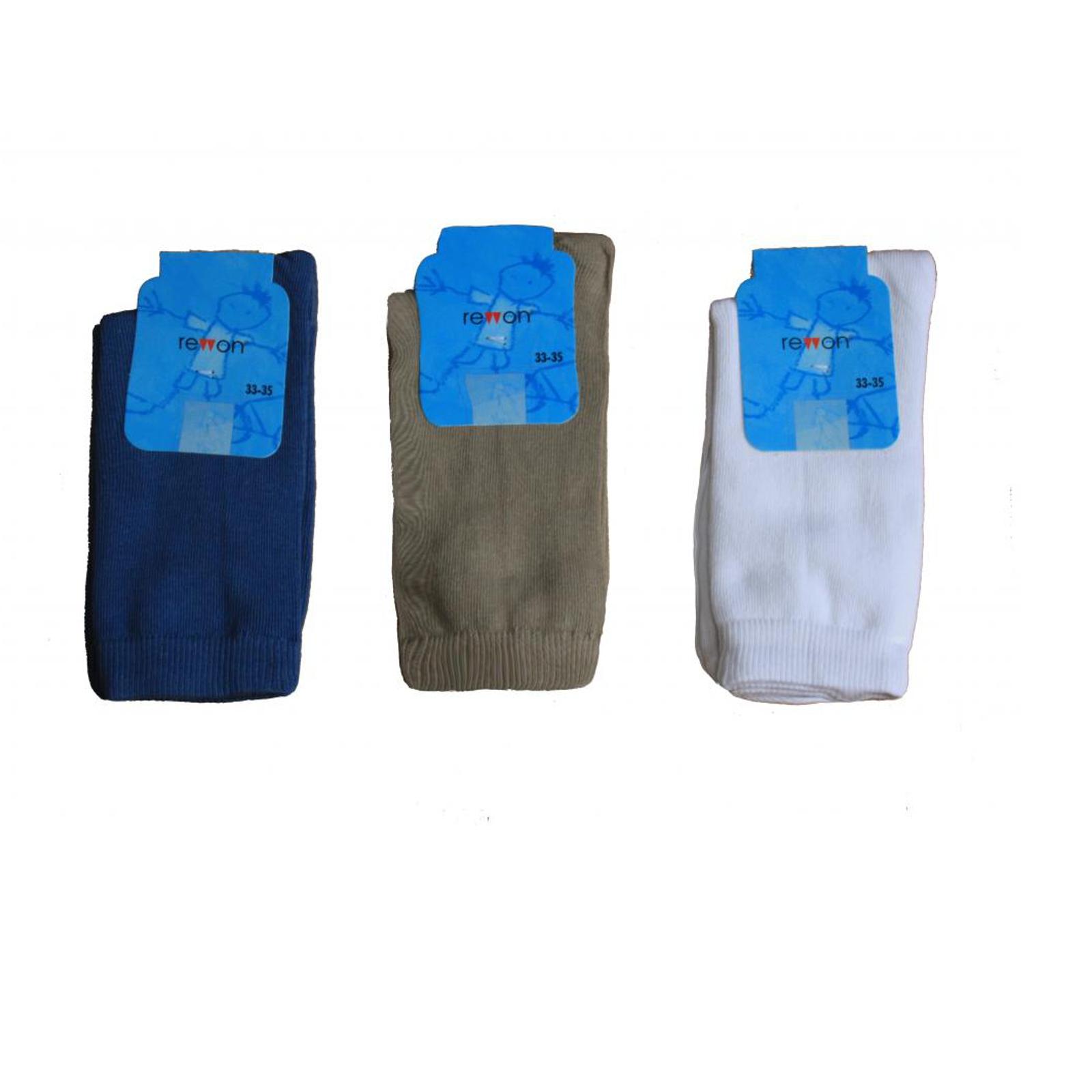 Носки Rewon гладкие размер 11-12 см