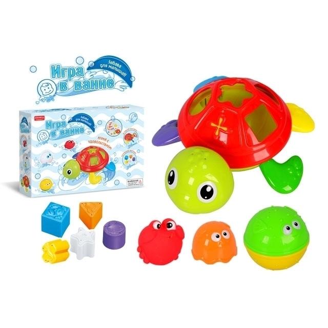 Игрушки для ванной Zhorya Черепаха