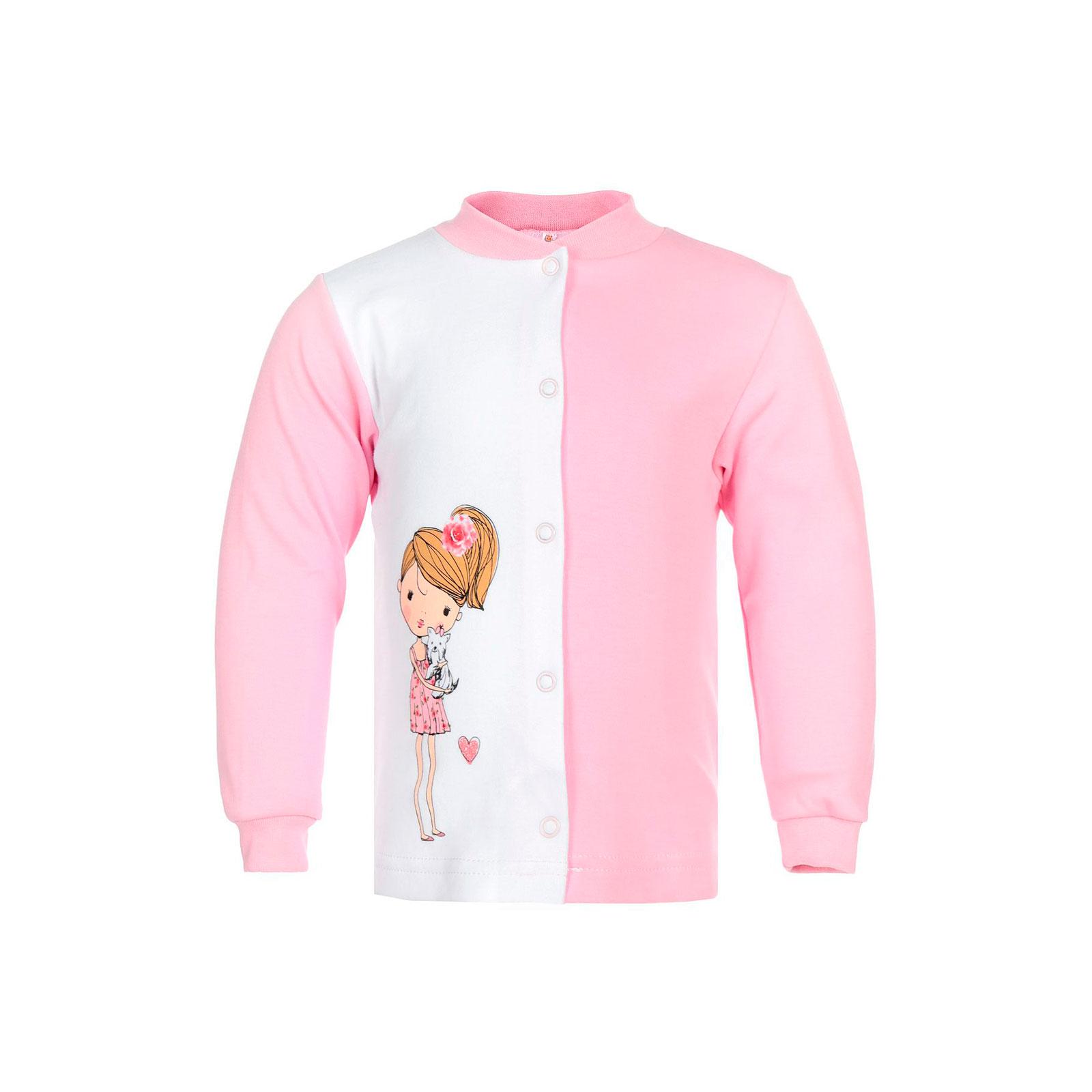 Кофточка Котмаркот Розы рост 74 розовый<br>