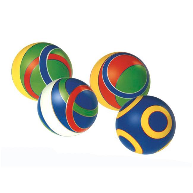Мяч Русский стиль 125 мм Полоска<br>