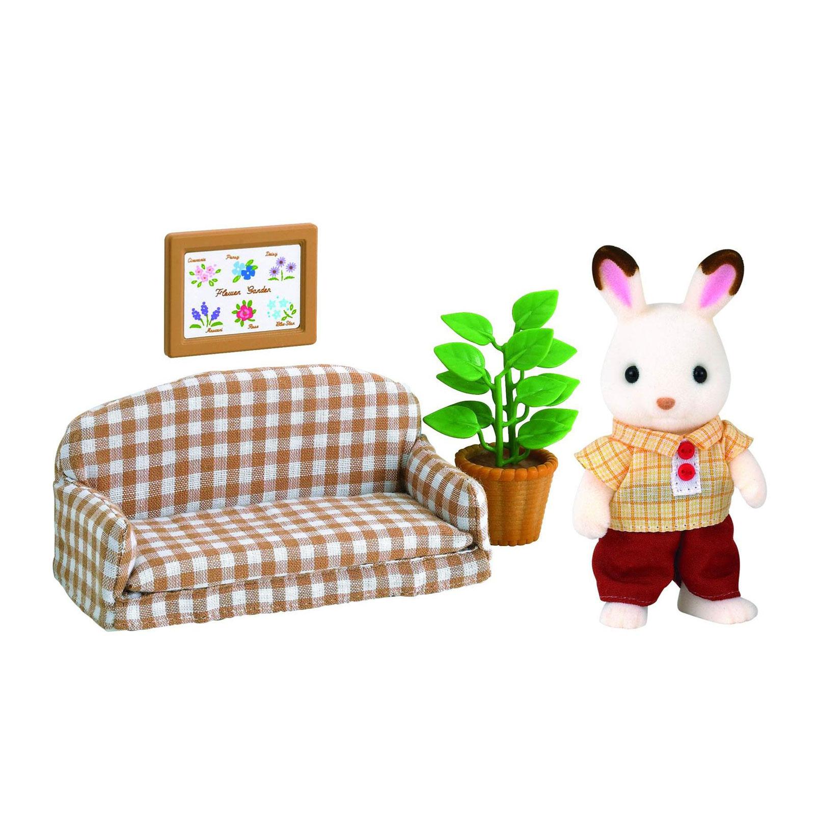 Игровой набор Sylvanian Families Папа на диване<br>