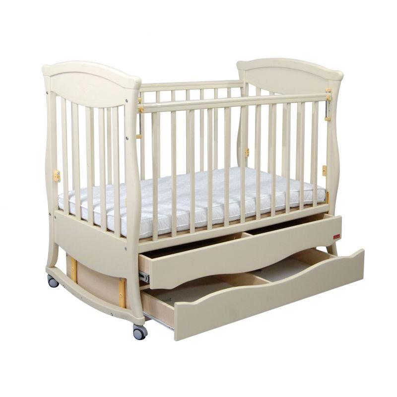 Кроватка Наполеон Грация Белый<br>
