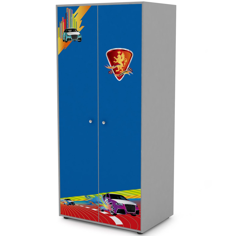 Шкаф 2-х дверный Grifon Style R800 Синий<br>