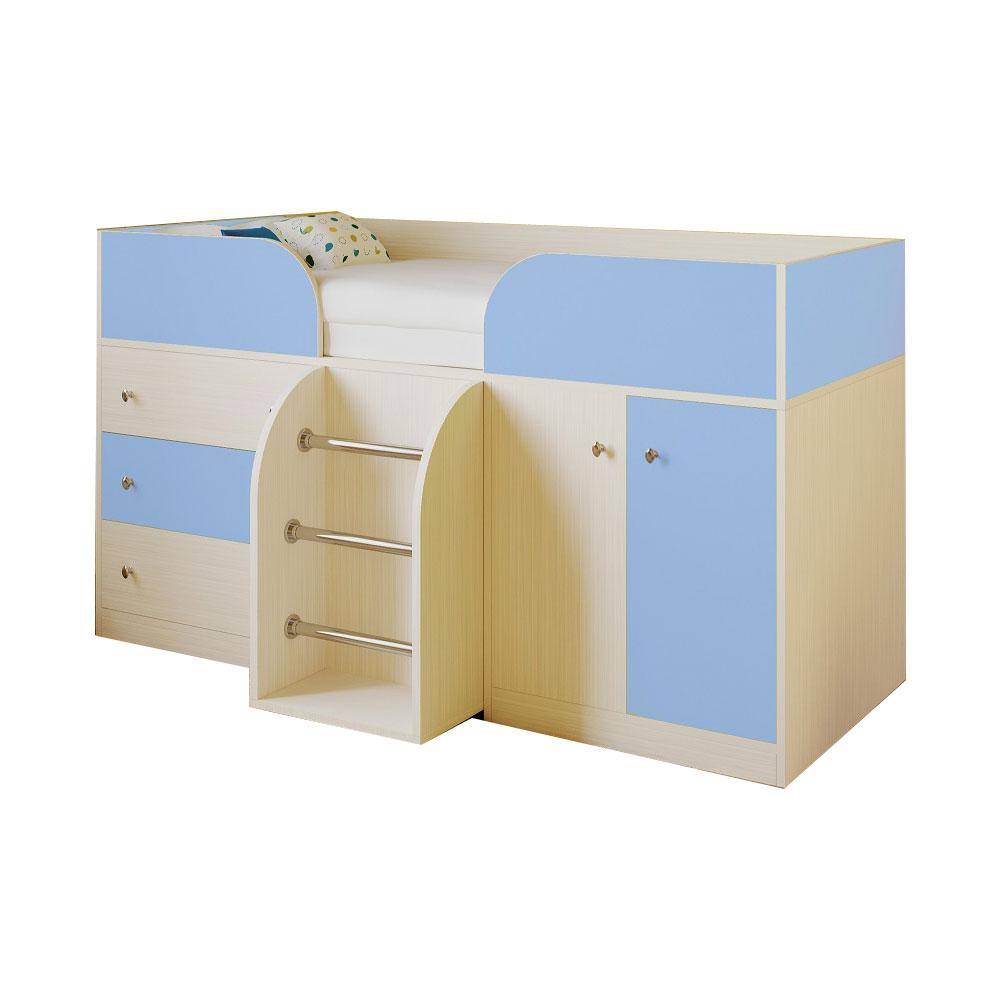 Набор мебели РВ-Мебель Астра 5 Дуб молочный/Голубой<br>