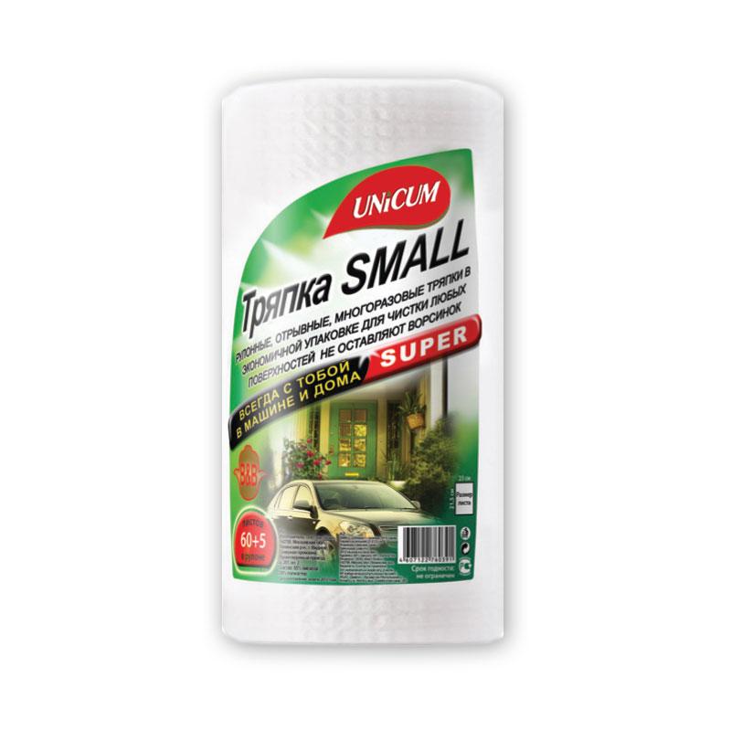 Тряпка Unicum Small для уборки многоразовая 21х23см 65 шт