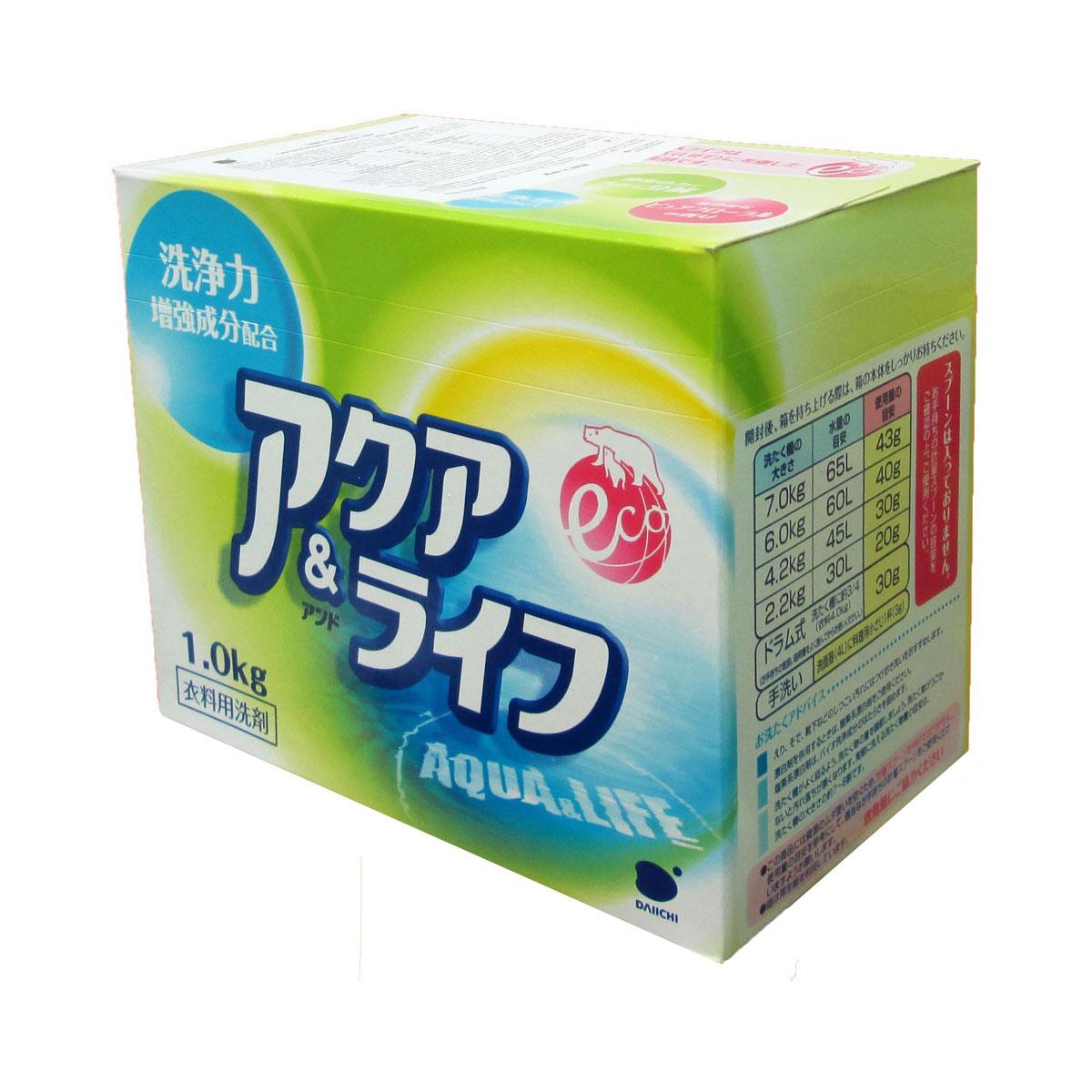 Стиральный порошок Daiichi Даичи 1000 гр. Аква лайф с ферментами<br>