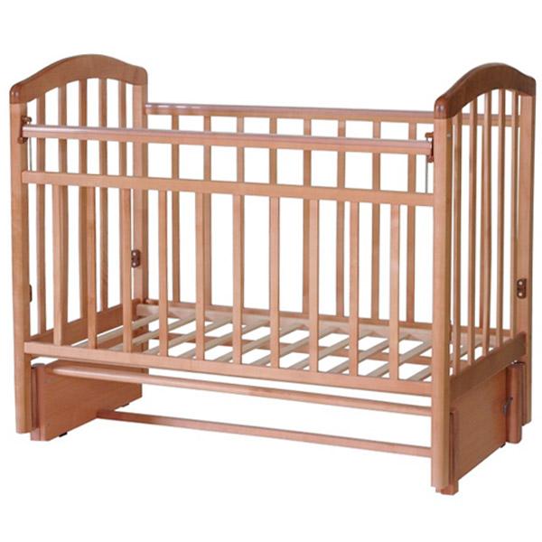 Кроватка Антел Алита-5 маятник продольного качания Бук<br>