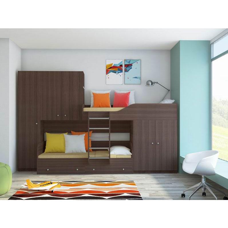 Набор мебели РВ-Мебель Лео Дуб шамони<br>