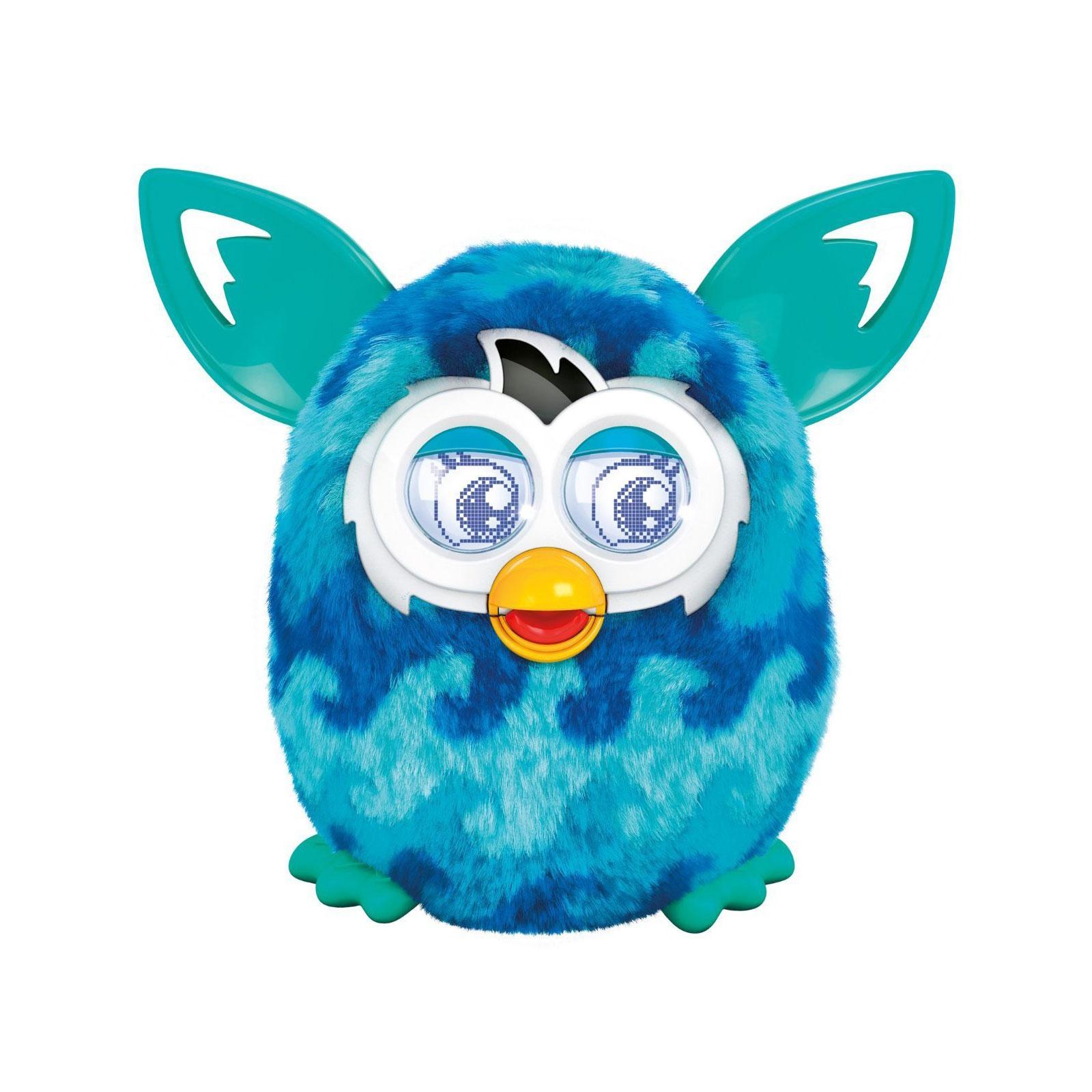 Интерактивная игрушка Furby Boom Теплая волна Голубой<br>