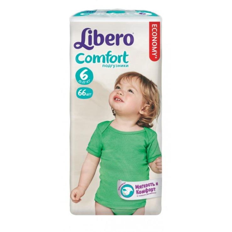 ���������� Libero Comfort Extra large 12-22 �� (66 ��) ������ 6