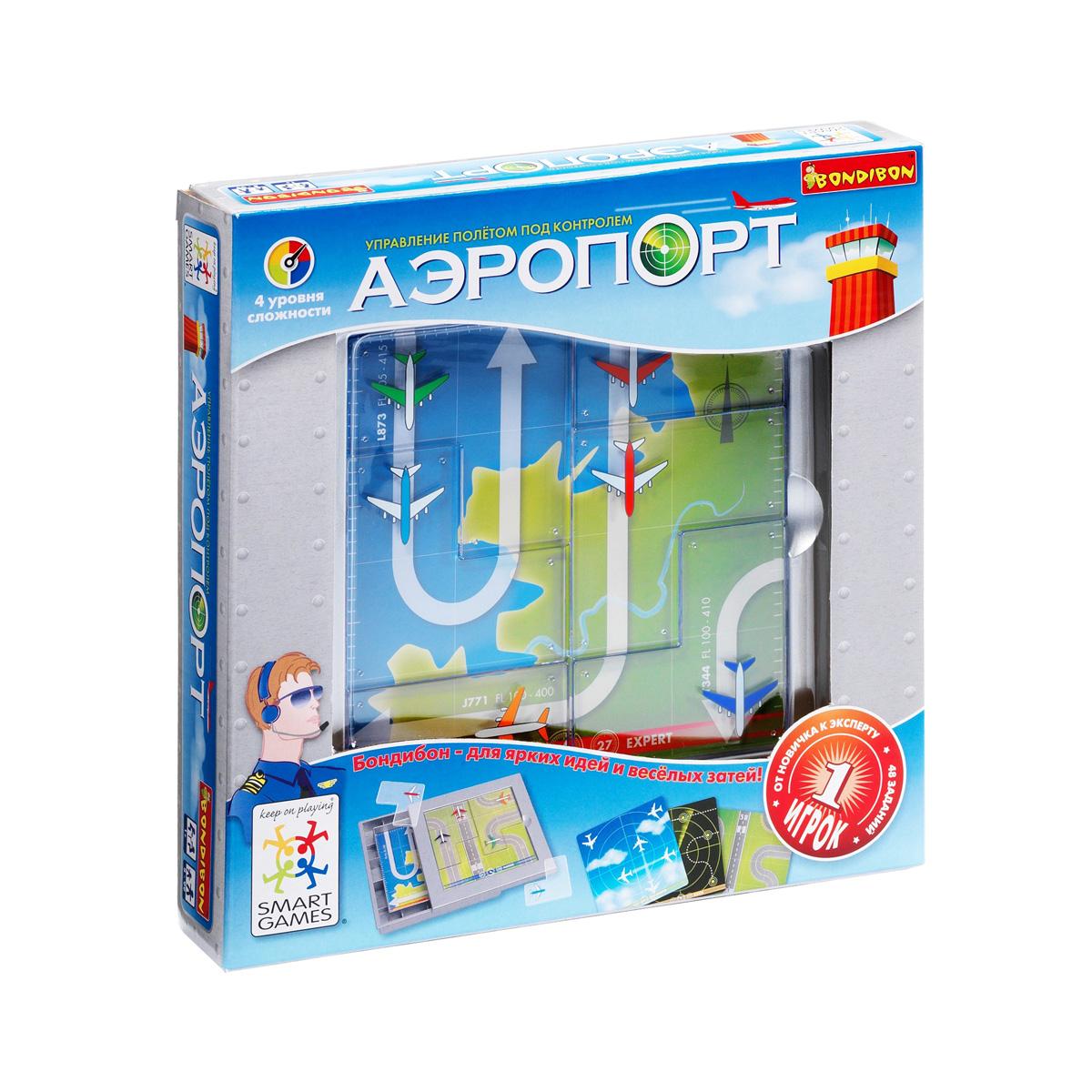 Логические игры Bondibon Аэропорт<br>