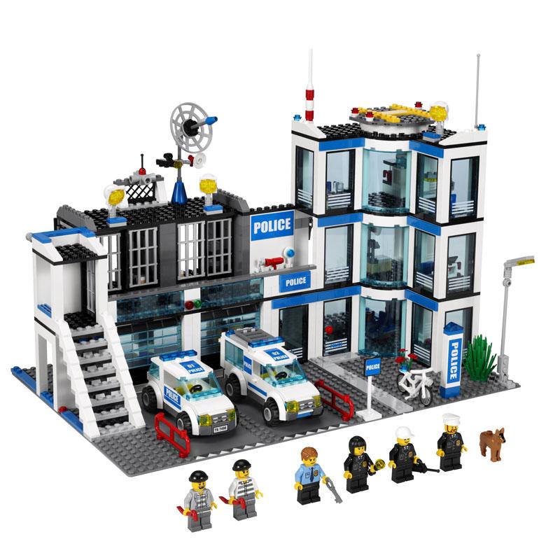 Конструктор LEGO City 60047 Полицейский участок<br>