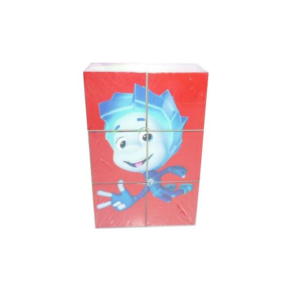 Развивающая игрушка Умка Фиксики Набор из 6-и кубиков