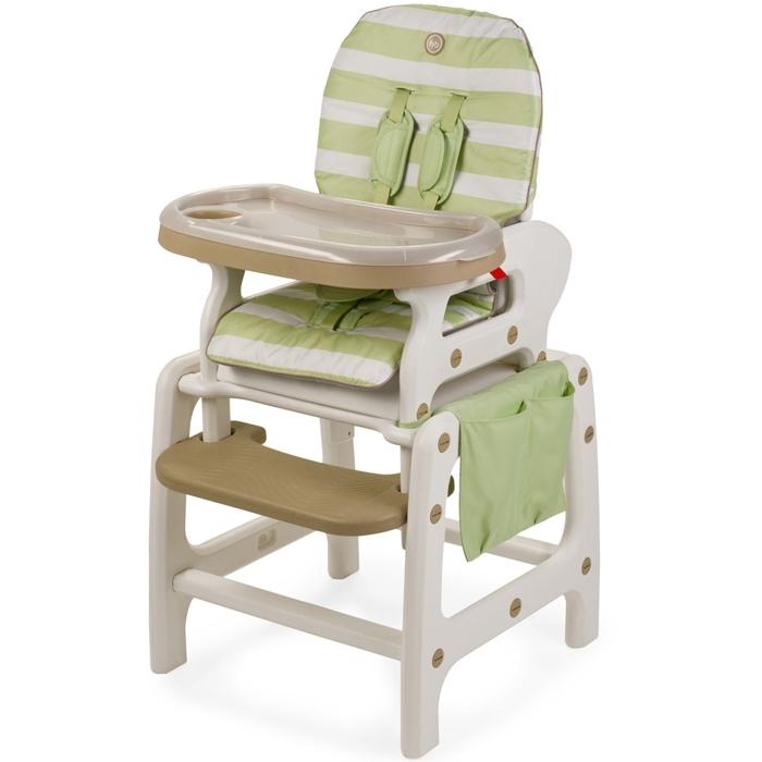Стульчик для кормления Happy Baby Oliver V2 Зеленый<br>