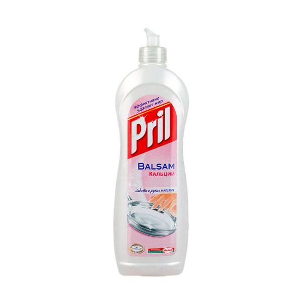 Средство для мытья посуды PRIL 900 мл. Кальций<br>
