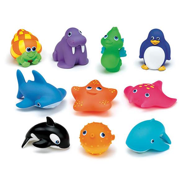 Игрушка для ванны Munchkin Морские животные 10 шт<br>