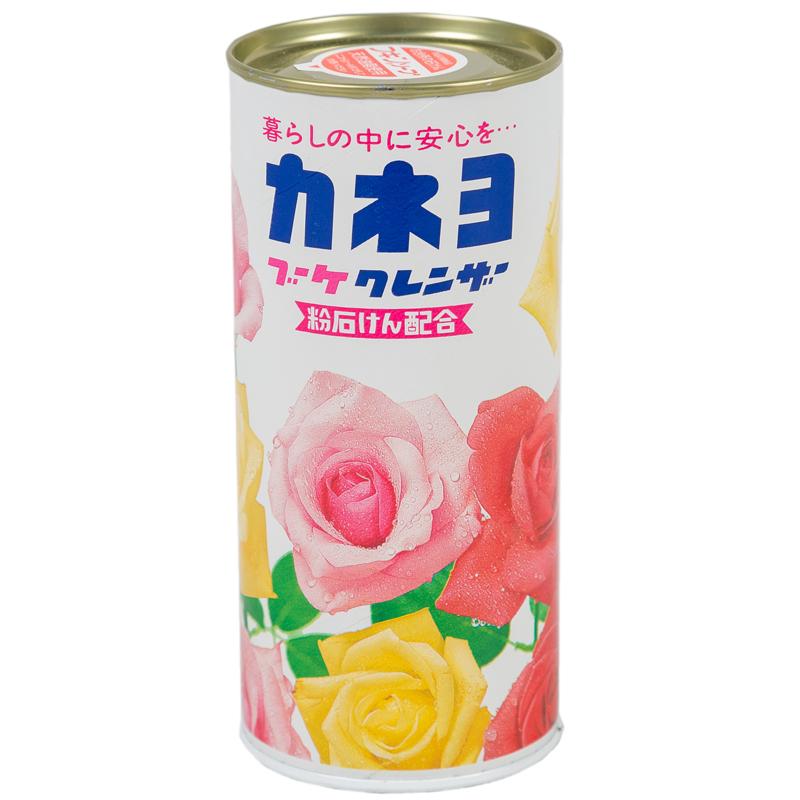 Порошок чистящий Kaneyo для кухни и ванной комнаты 400 гр. Аромат цветов<br>