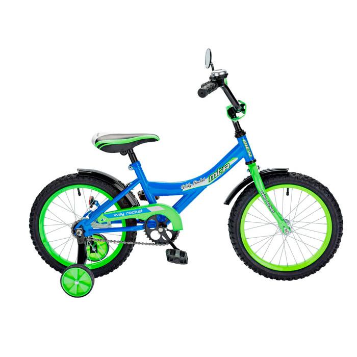 Велосипед двухколесный RT BA Wily Rocket 14 KG1408 Синий<br>