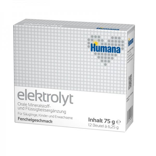 Заменитель Humana Электролит 75 гр Cо вкусом фенхеля (с 0 мес)<br>