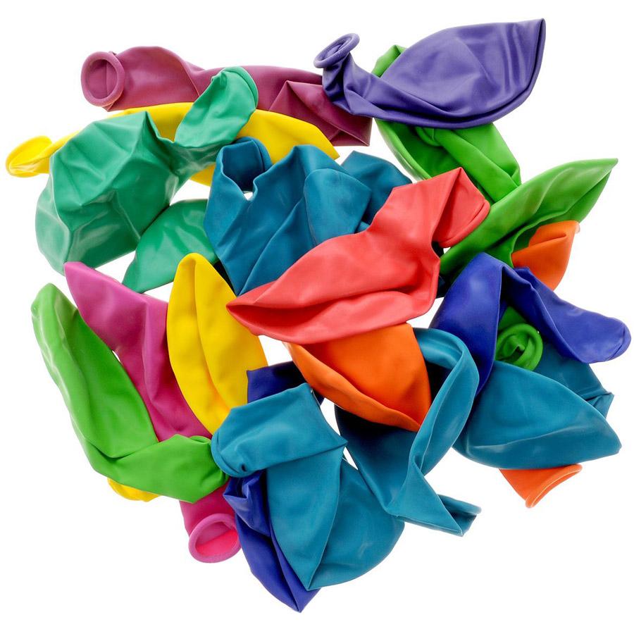 Воздушные шары ACTION! метализированные 30см 20 штук<br>