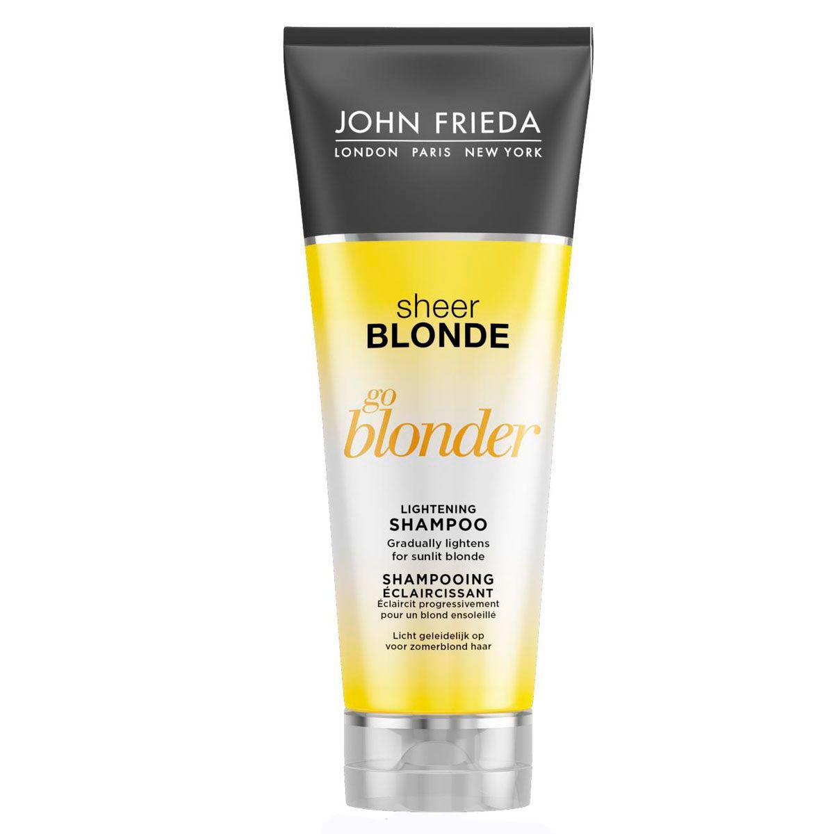 Шампунь John Frieda Sheer Blonde осветляющий для натуральных, мелированных и окрашенных волос 250 мл<br>