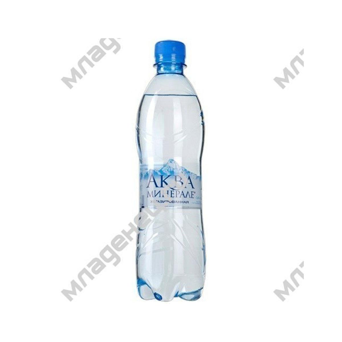 Вода Aqua Minerale Аква Минерале 0.6 л. негазированная от Младенец.ru