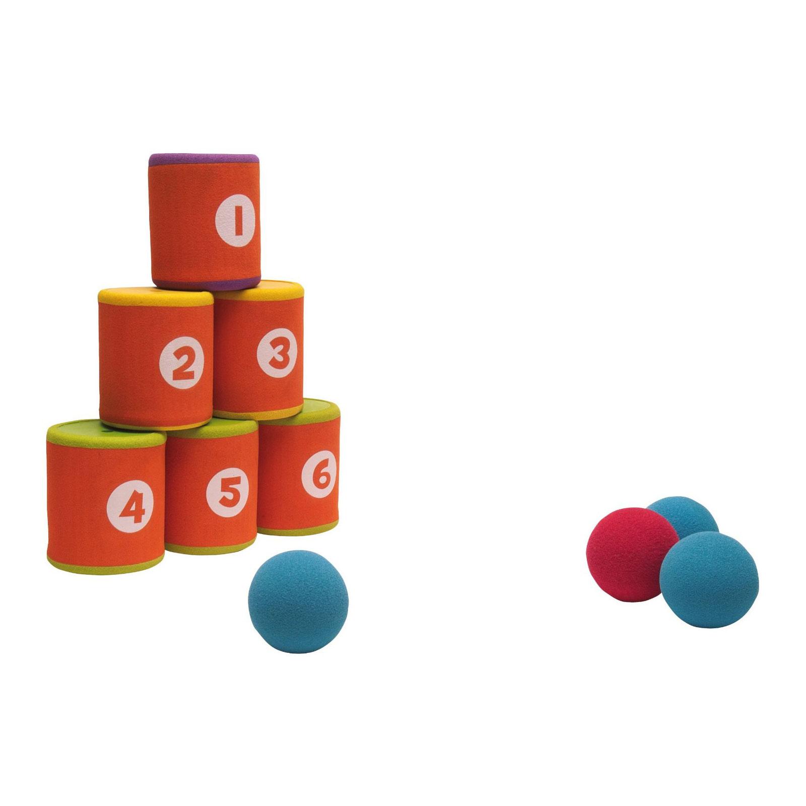 Развивающая игрушка Ouaps Сбей банку с музыкальными эффектами