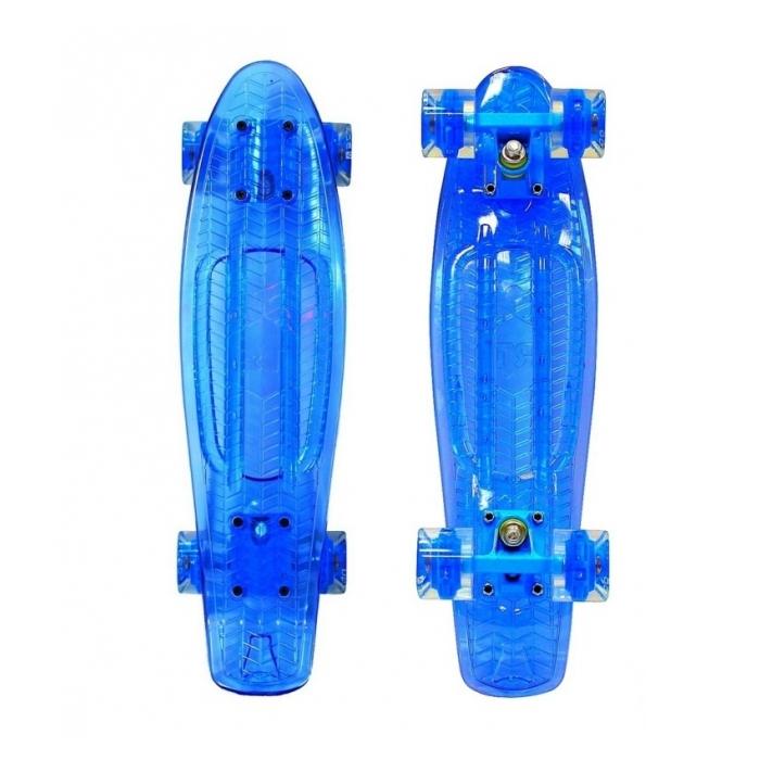 ��������� Y-Scoo Penny board Shine �� ����������� �������� Blue