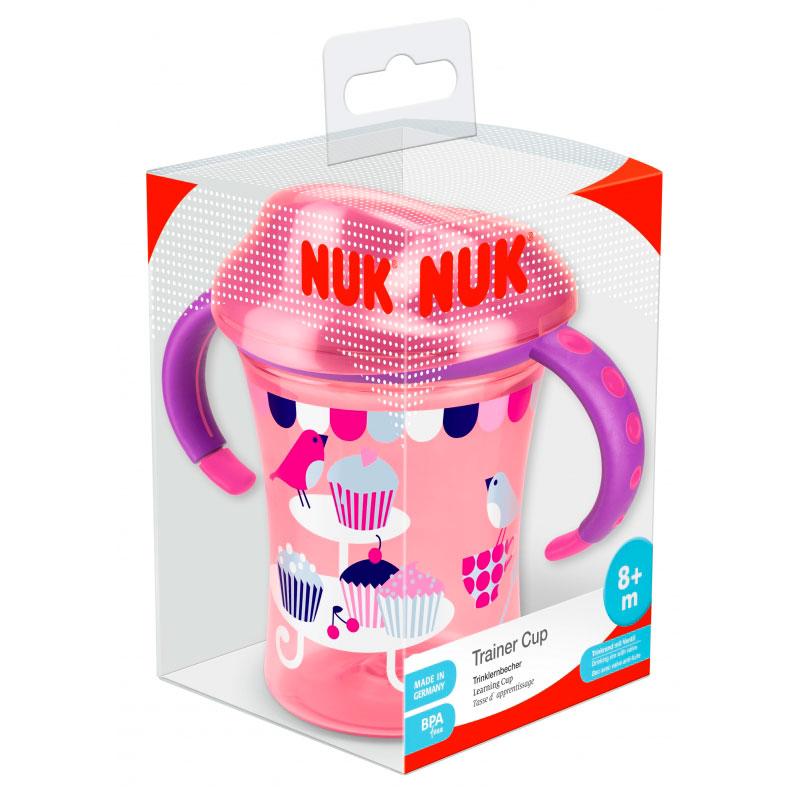Поильник Nuk 275 мл Easy Learning Cup 2 Изи Лёнинг Кап 2 (с 10 мес)<br>