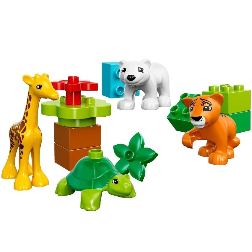 Конструктор LEGO Duplo 10801 Вокруг света: малыши<br>