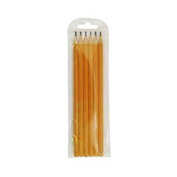 Набор карандашей чернографитных KOH-I-NOOR 6 штук<br>