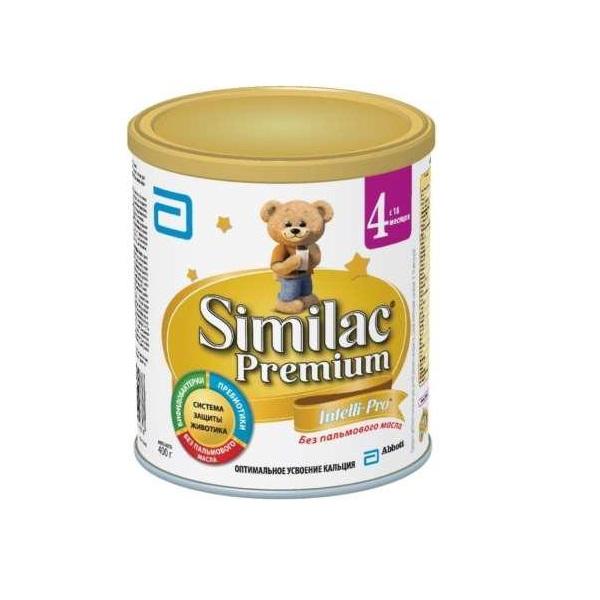 Заменитель Similac Премиум 400 гр № 4 (с 18 мес)