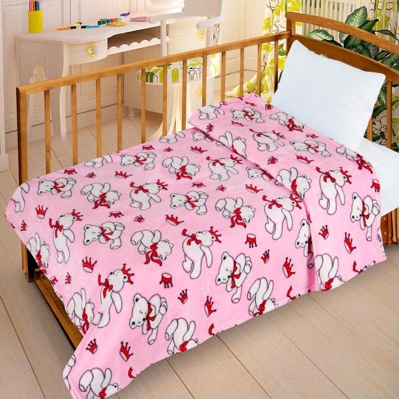 Плед Letto Велсофт-беби в кроватку VB11<br>