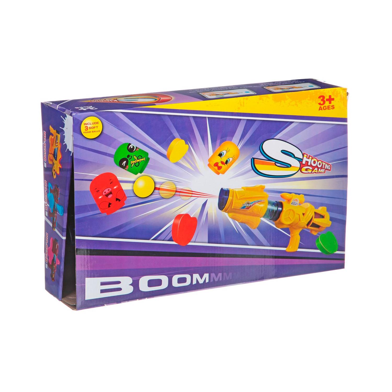 Оружие Play Smart Пистолет с шарами и мишенью BOX Boombie Shooter 9253B<br>