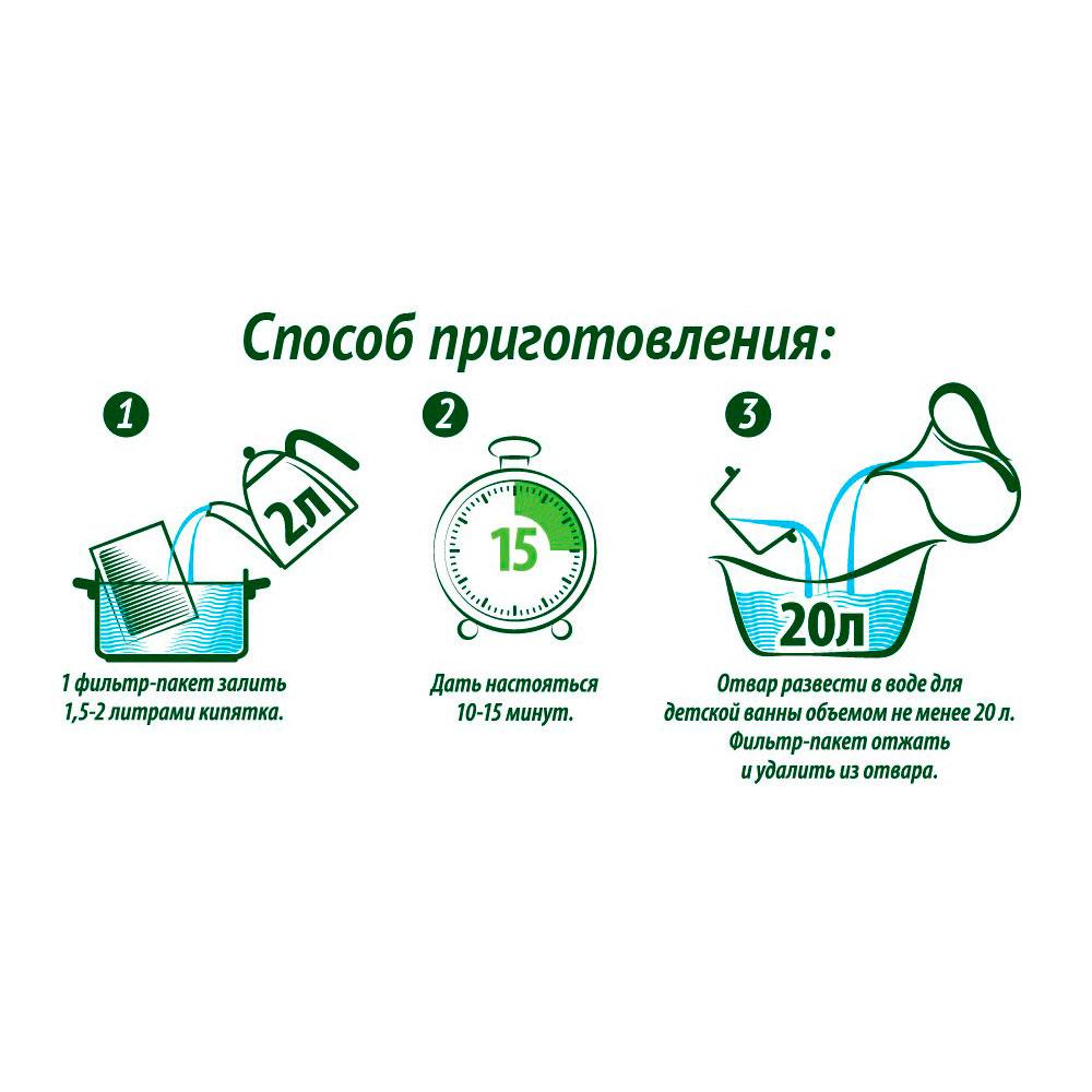 Травяной сбор Herbal Baby Spa Нежная кожа 45 гр