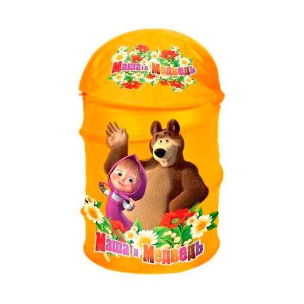 Корзина для игрушек ToyMart Маша и Медведь<br>