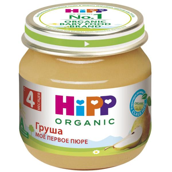 Пюре Hipp фруктовое 80 гр Груша (с 4 мес)<br>