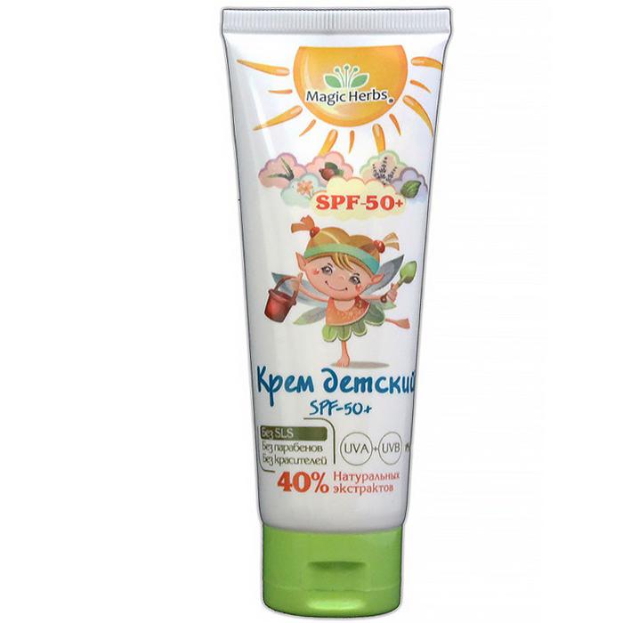 Крем солнцезащитный Magic Herbs Крем детский 75 мл (SPF - 50+ )<br>