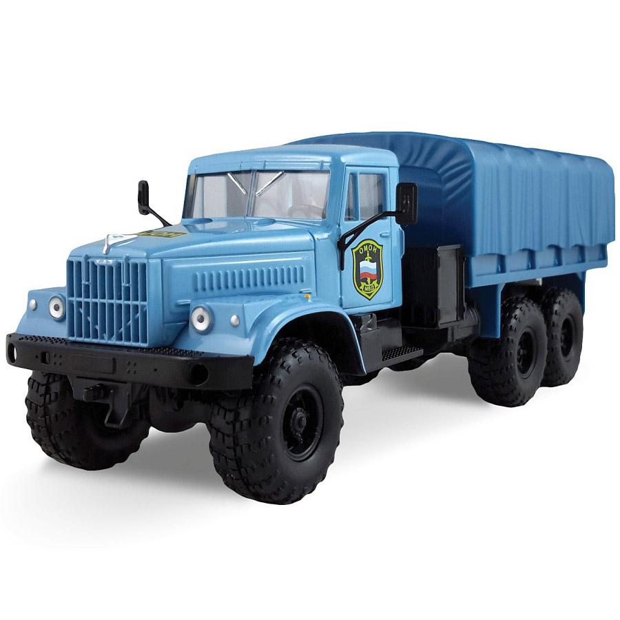Машинка Autotime KRAZ-255B ОМОН<br>
