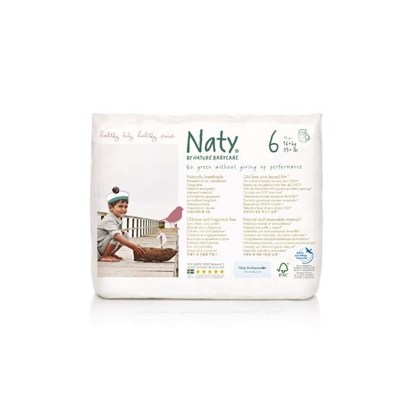Подгузники-трусики Naty 16+ кг (18 шт) Размер 6<br>