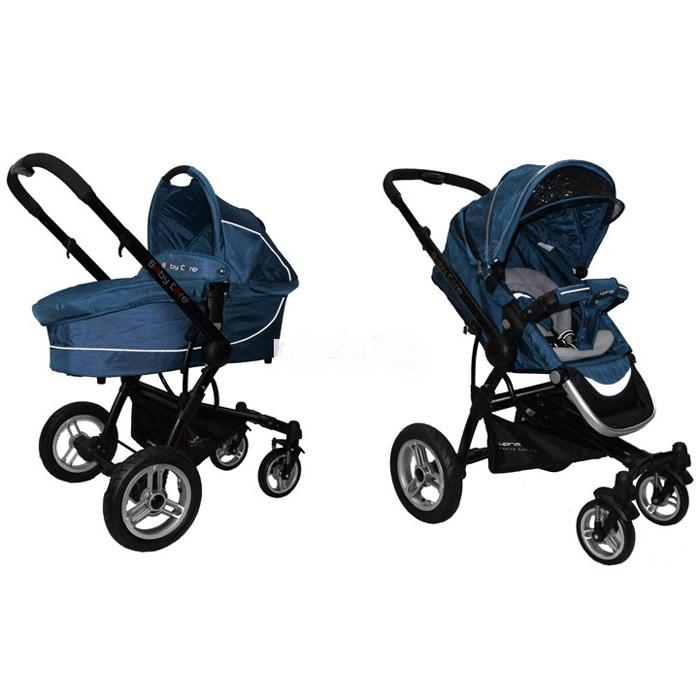 Коляска Baby Care Suprim C 300 Suprim Solo + люлька Turg Blue<br>
