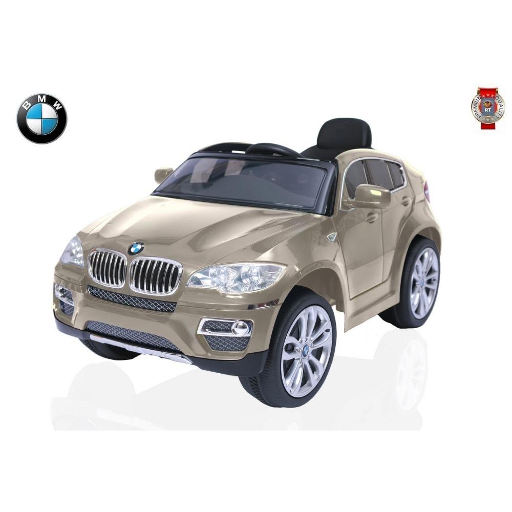 Электромобиль RT BMW X6 Champagne<br>