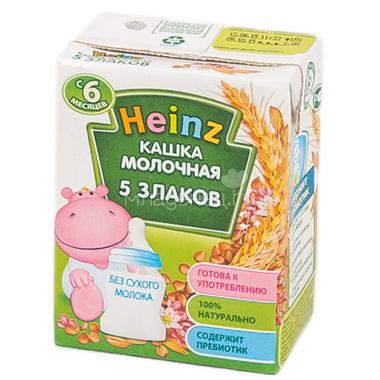 Каша Heinz молочная 200 мл (готовая) Многозерновая (с 6 мес)