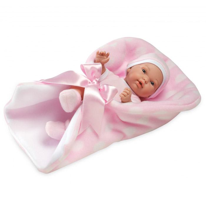 Кукла Arias 26 см Пупс в конверте с атласной лентой Розовый<br>