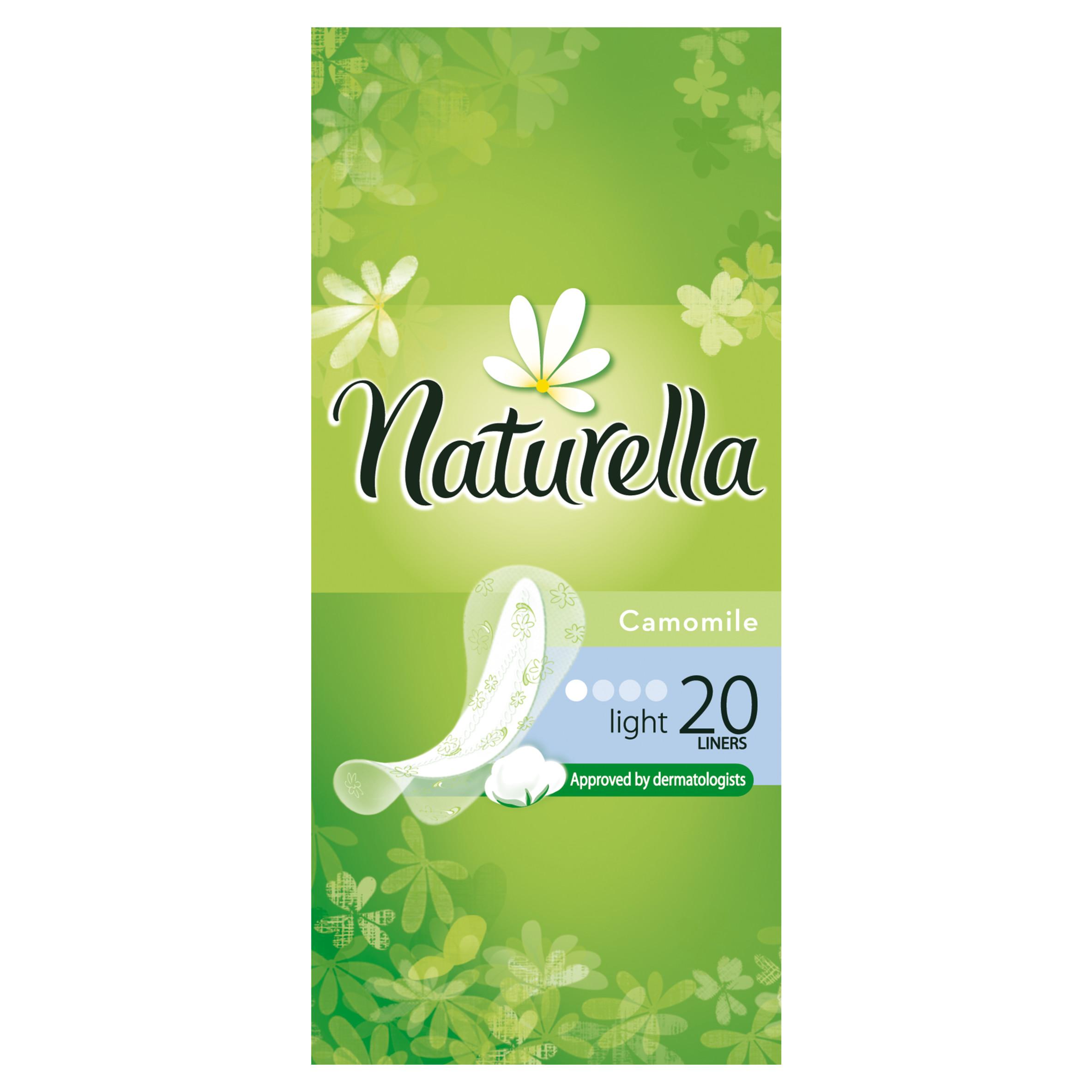 Прокладки гигиенические Naturella ежедневные Light Camomile 20Шт.<br>