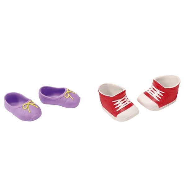 Обувь для кукол Zapf Creation Baby Born Ботиночки 2 пары в блистере (в ассортименте)<br>