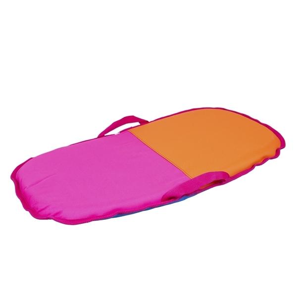 Санки-айсбот Метиз Средние Розовые с оранжевым<br>